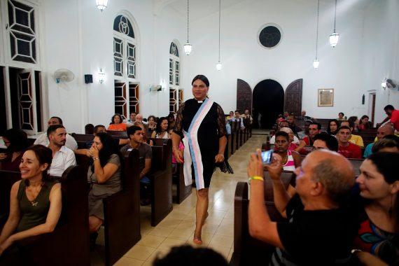 messe protestante transgenre Cuba