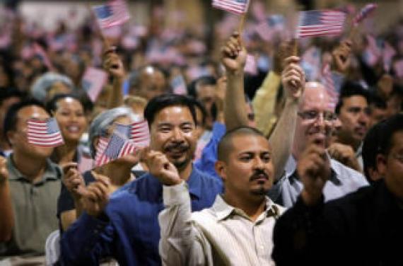 population immigrée Etats Unis niveaux records