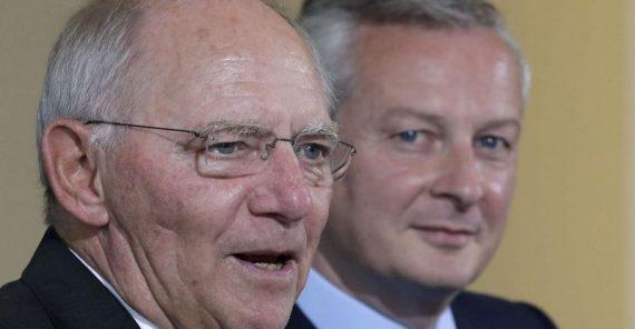 union fiscale intégration UE Macron Gentiloni Schaüble Le Maire