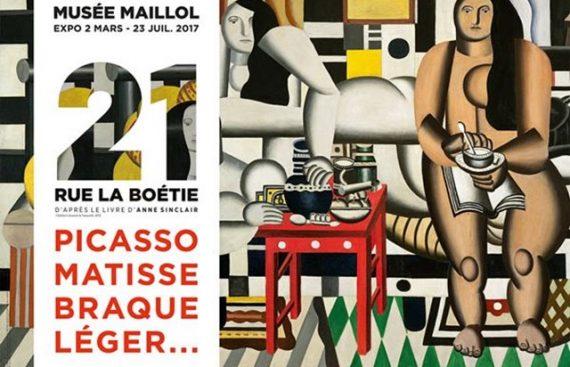 21 Rue Boétie Picasso Matisse Braque Léger Peinture Exposition