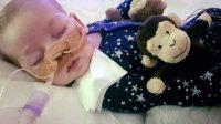Le petit Charlie Gard, atteint d'une maladie génétique rare.