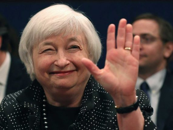 Janet Yellen optimiste Fed dette mondiale