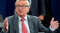 Le président de la Commission européenne Jean-Claude Juncker, le 14 juin 2017 à Strasbourg.