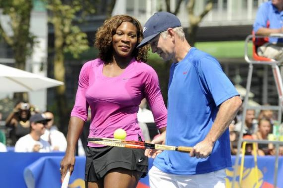 Mac Enroe contre Serena Williams vers tournois tennis mixtes