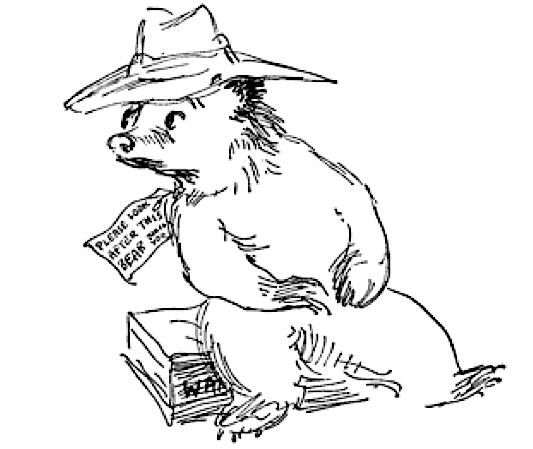 Michael Bond père ours Paddington mort
