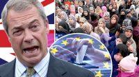 Nigel Farage met en garde les élites britanniques sur l'immigration:le peuple ne se contentera pas du Brexit!