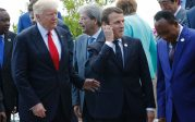 Trump défie le mythe du réchauffement anthropogénique, Macron champion du mondialisme