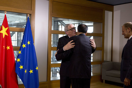 déclaration commune Chine UE union changement climatique