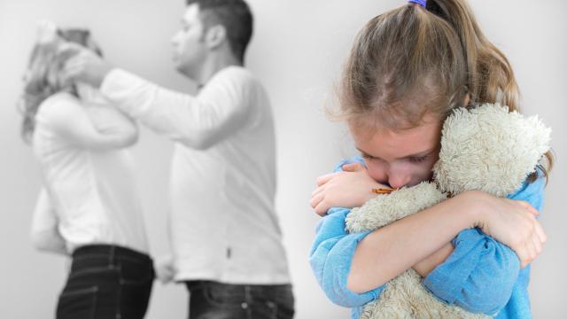 enfants divorce chances attraper rhume