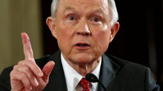 fin financement associations gauche Jeff Sessions Département justice Etats Unis