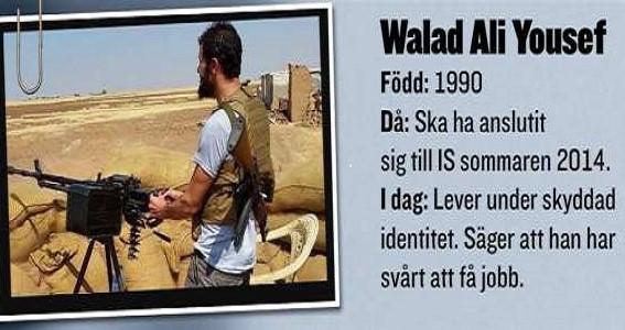 gouvernement Suède djihadistes retour identités protégées
