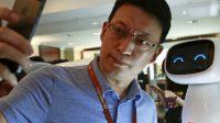 Les robots et l'intelligence artificielle (AI) à l'honneur au Forum économique mondial, la Chine montre le chemin de cet avenir radieux