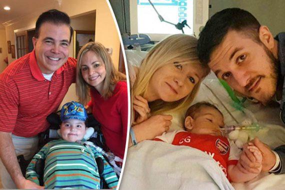 Américain fils guéri maladie Charlie Gard