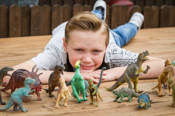 Anglais 10 ans fort dinosaures Museum