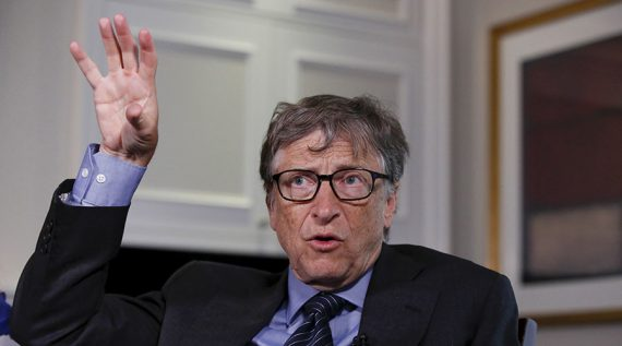 Bill Gates appel arrêt accueil migrants Europe