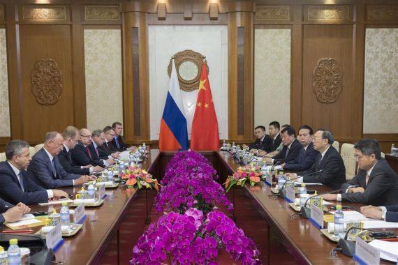 Chine Russie coordonnent stratégie sécurité