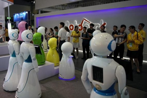 Chine programme développement intelligence artificielle AI