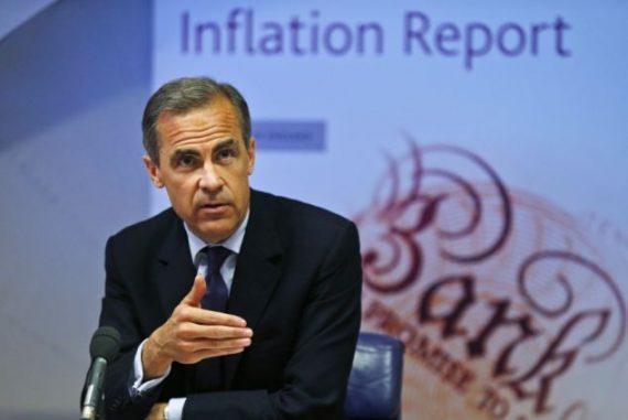 Gouverneur Banque Angleterre remontée taux intérêts