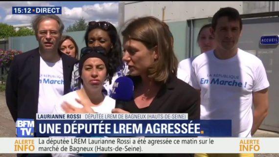 Laurianne Rossi Députée En Marche Agressée