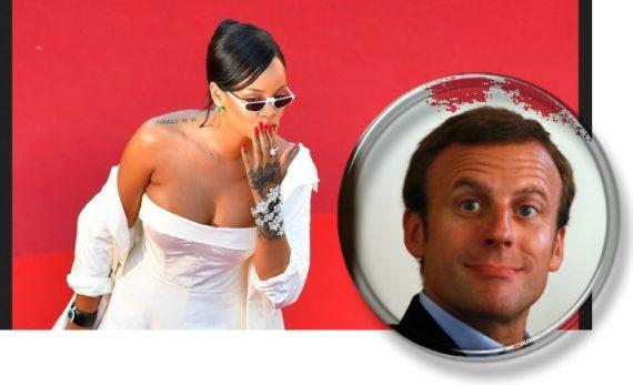 Macron Rihanna Guillaume II Adolescence Impériale