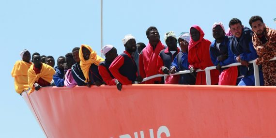 Migrants Libye Europe hommes