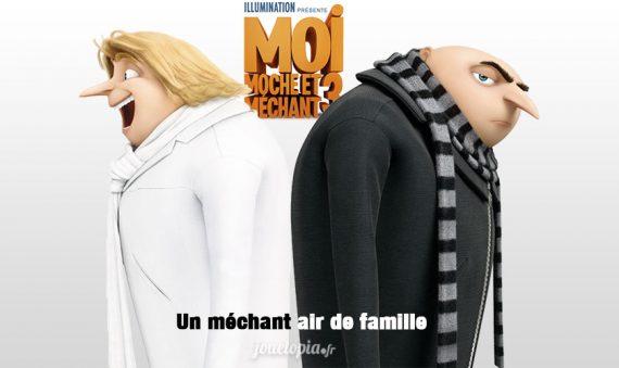 Moi Moche Méchant 3 Comédie enfants animation film