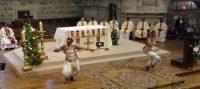 La vidéo&nbsp;:<br>Shiva s'invite à l'ordination du prêtre indien Manoj à Millau par Mgr Fonlupt…