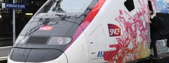 TGV LGV Océane Paris Toulouse Intercités Macron réseau deux vitesses