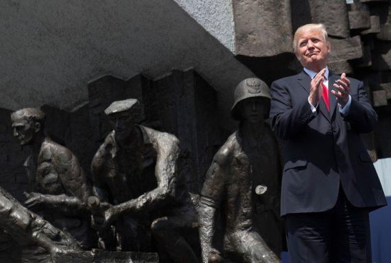 Trump discours Varsovie Poutine Russie