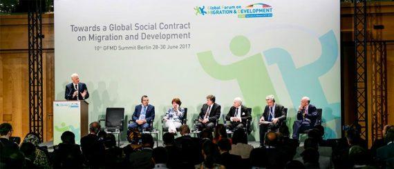 Tsunami migratoire Forum mondial migration développement FMMD GFMD sommet immigration