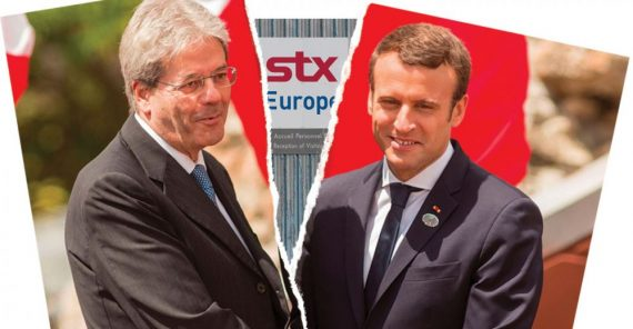 chantiers navals STX France Italie