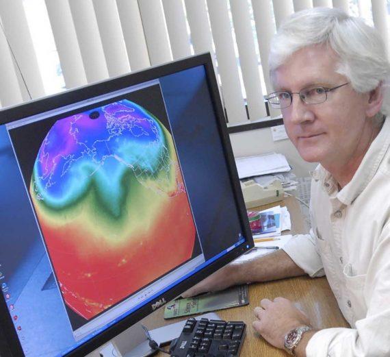 Harvey réchauffement climatique chiffres climatologue Roy Spencer