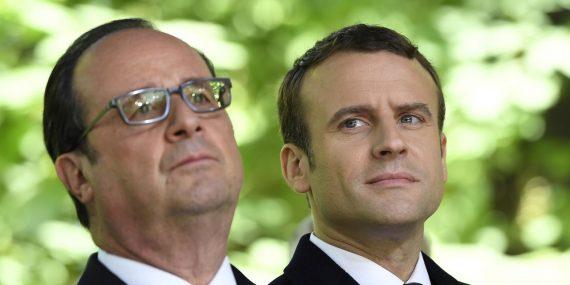 Hollande défend héritage contre Macron