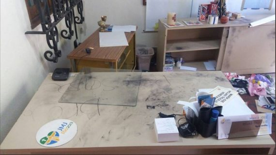 Intrusion siège conférence épiscopale Venezuela
