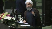 Le président iranien Hassan Rohani, le 15 août 2017 à Téhéran.