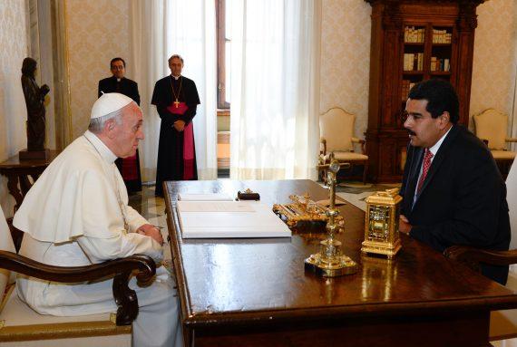 Nicolas Maduro pape François Venezuela envahir Etats Unis