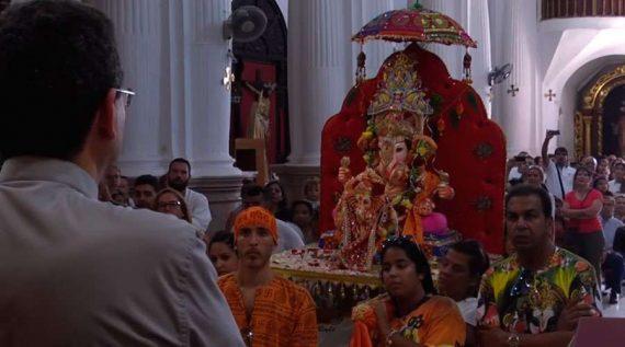 Profanation sanctuaire Vierge Afrique Ceuta dieu hindou Ganesh évêque pardon