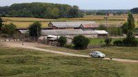 Une ferme en Serbie, qui se trouve à environ 110 km de Belgrade.