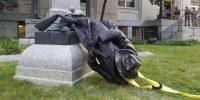 Trump pour les statues des confédérés, le maire de New York contre Pétain&nbsp;:<br>la guerre mondiale de l'histoire est déclarée