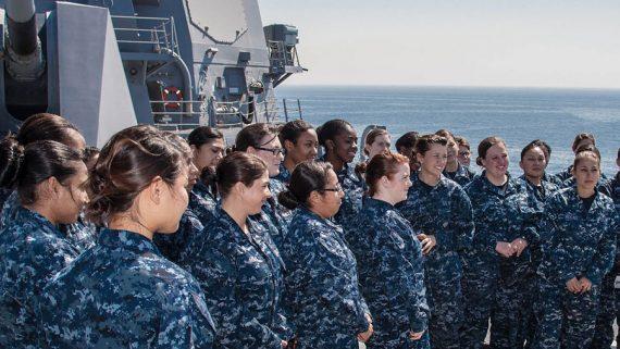 US Navy femmes problèmes