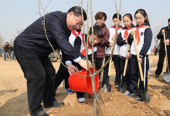 Xi Jinping construire civilisation écologique
