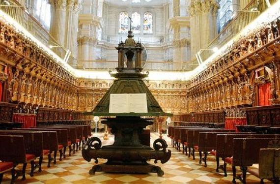 diocèse Malaga Espagne réfléchir avenir choeur XVIIe cathédrale