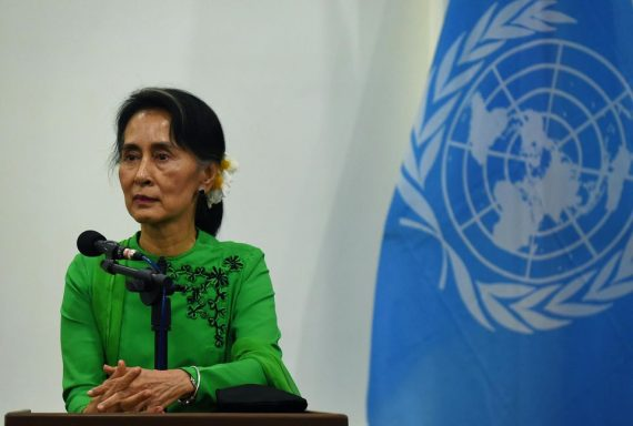 Aung San Suu Kyi Bouddhistes Rohingyas Gentils Méchants