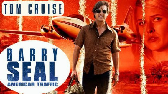 Barry Seal American trafic drame hsitorique comédie film