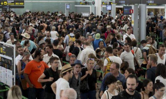 Chaos mondial aéroports cause bug logiciel