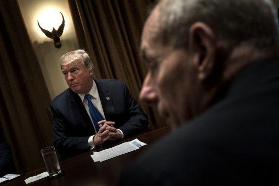 Donald Trump DACA amnistie immigrés illégaux mur