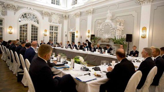 Europe menu dîner Tallinn