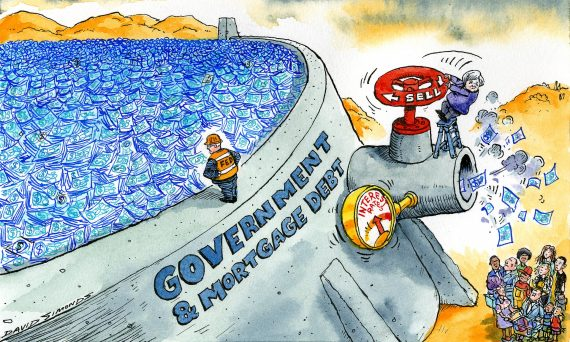 Fed fin assouplissement quantitatif dette