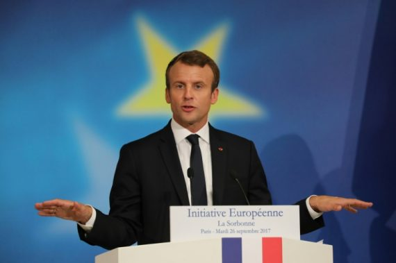 Macron discours Sorbonne Europe young leader