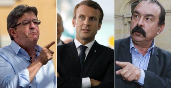 Manif Test Réforme Macron Recherche Affrontement Social